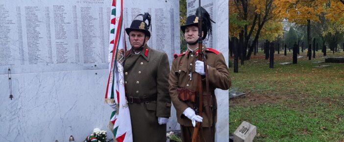 Vitézek és tiszteletbeli csendőrök közösen emlékeztek!